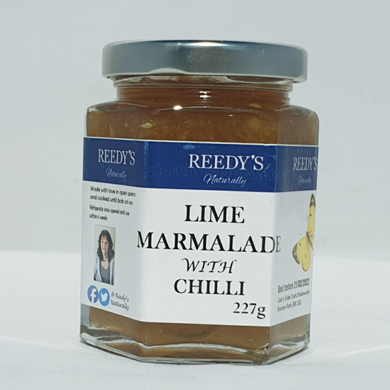 Lime Marmalade with Chilli