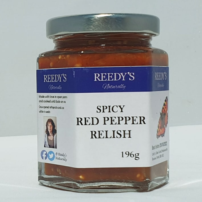 Spicy Red Pepper Relish
