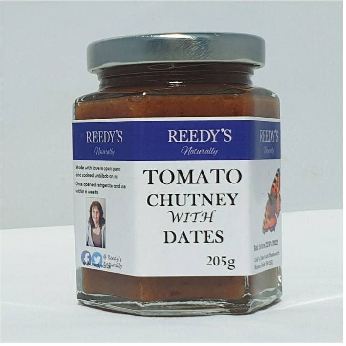 Tomato Chutney with Dates