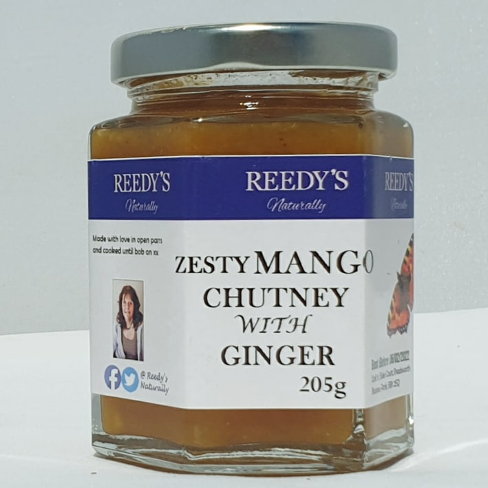 Zesty Mango with Ginger Chutney