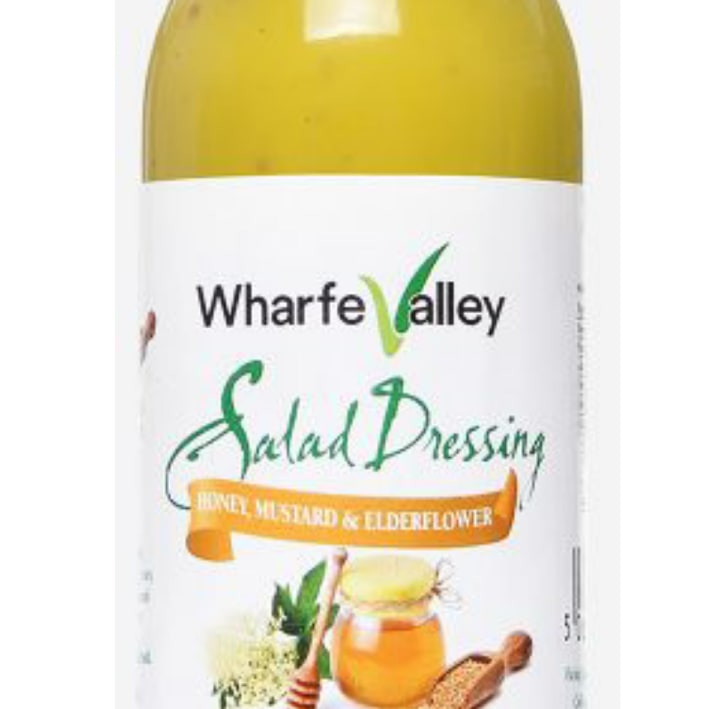 Honer Mustard and Elderflower Dressing