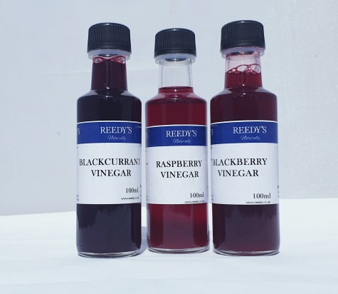 3 Fruit Infused Vinegars