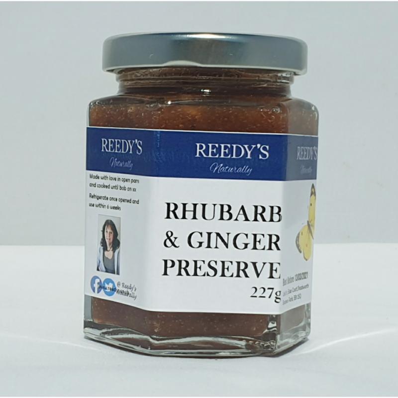 Rhubarb & Ginger Preserve