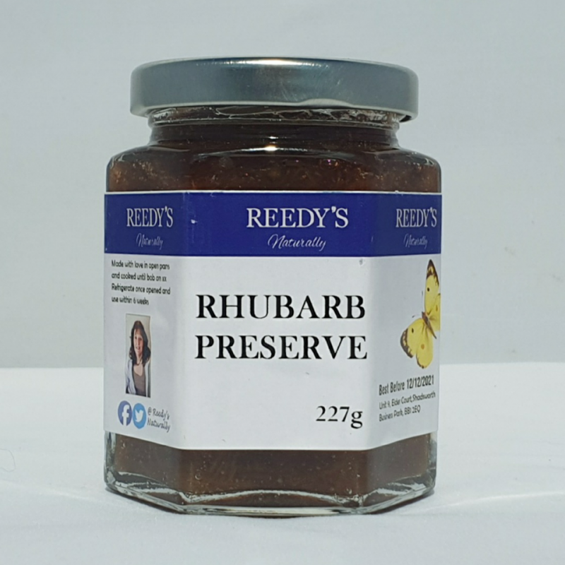 Rhubarb Preserve
