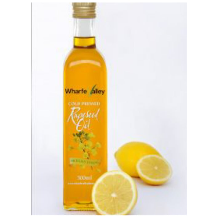 Sicilian Lemon Rapeseed Oil
