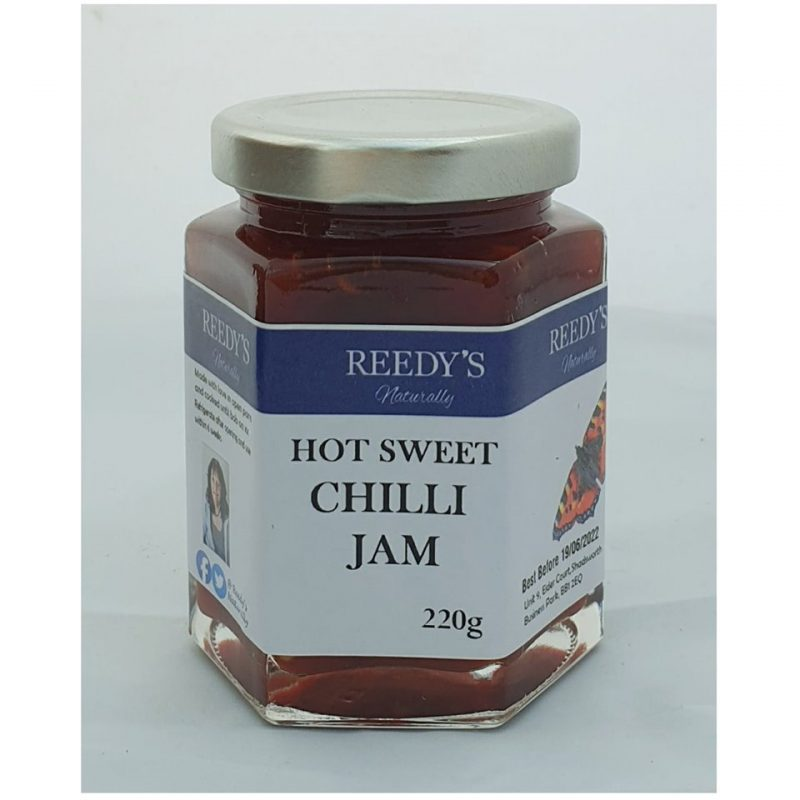 Hot Sweet Chilli Jam